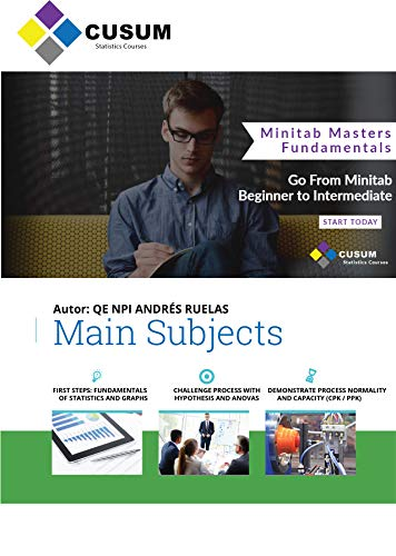 Minitab Masters - Fundamentals (Minitab Masters English Book 1) (English Edition)