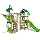 FATMOOSE Aire de jeux Portique bois WaterWorld avec balançoire et...