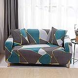 HYRGLIZI Protecteur de meubles de Salon pour chiens animaux de compagnie, la housse de canapé EST extensible, Anti-poussière, Anti-Rides et antidérapante protecteur de meubles-03_1 Places 90-140cm
