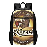 Mochila de Cerveza Lsjuee Kozel, Mochila Escolar Unisex, Diaria, Ligera, Informal, de Viaje, para...