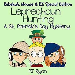 Leprechaun Hunting: A St. Patrick's Day Mystery audiobook cover art