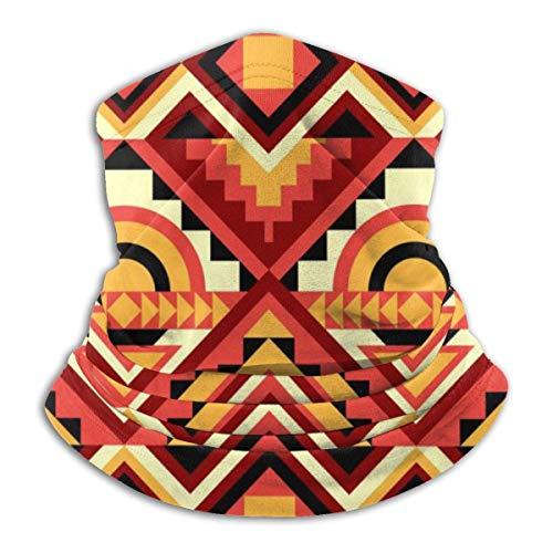 Dydan Tne Calentador de Cuello, Polaina, patrón Colorido, Gorro de Microfibra Suave, Bufanda Facial, máscara para Clima frío de Invierno para Hombres y Mujeres NCK-803