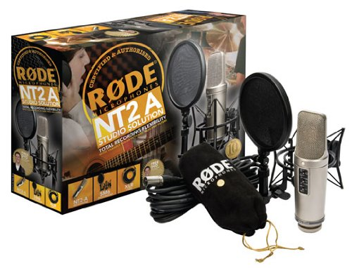 Price comparison product image Rode NT2A Anniversary Vocal Multi-Pattern Dual Condenser Microphone Package