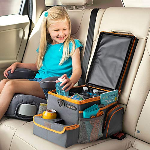 High Road CarHop Car Seat Organizer for Kids and Adults with Tray and Cooler Compartment