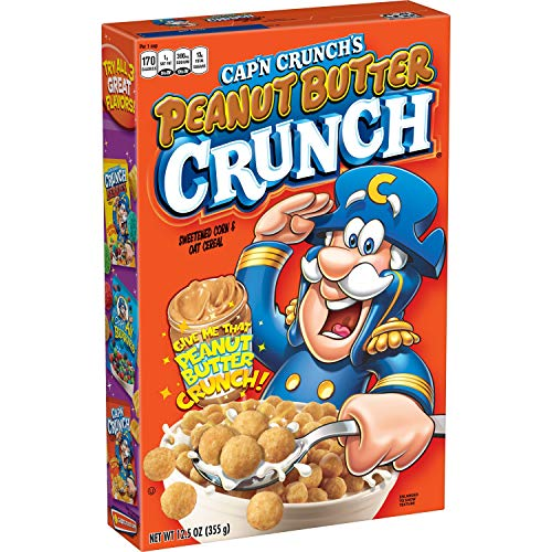 Cap'n Crunch Peanut Butter Crunch, 1er Pack (1 x 355 g)