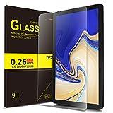 IVSO Pellicola Protettiva per Samsung Galaxy Tab S4 10.5 SM-T830N/T835N, Pellicola Protettiva Schermo in Vetro Temperato per Samsung Galaxy Tab S4 SM-T830N/T835N 10.5' 2018, 1 Pack