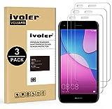 ivoler [Pack de 3] Verre Trempé pour Huawei Y6 Pro 2017 / Huawei P9 Lite Mini, Film Protection en...