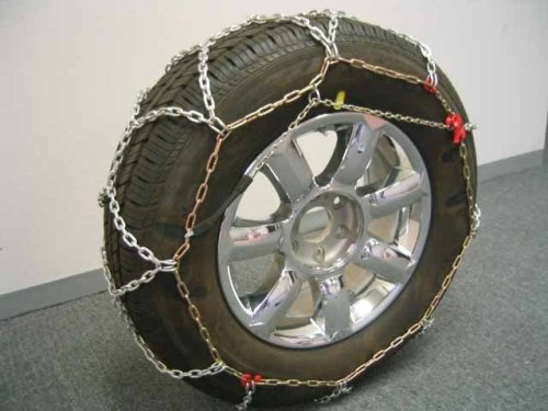 BikeBatts KNS110 Diamond Grip 12mm Tire Chains for Passenger Cars, SUV's, and Light Trucks
