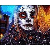 mlpnko Digitale Malerei DIY Horror böse hässliche Frau