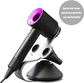Dyson Supersonic Hair Dryer Holder, Aluminum Alloy Bracket Power Plug Holder, Bathroom Organizer for Dyson Supersonic Hair Dryer Care Tools