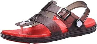 0d295340e7db Sumen Mens Clogs Garden Shoes Anti-Slip Adjustable Water Shoe Beach Shower  Sandals Summer Slippers