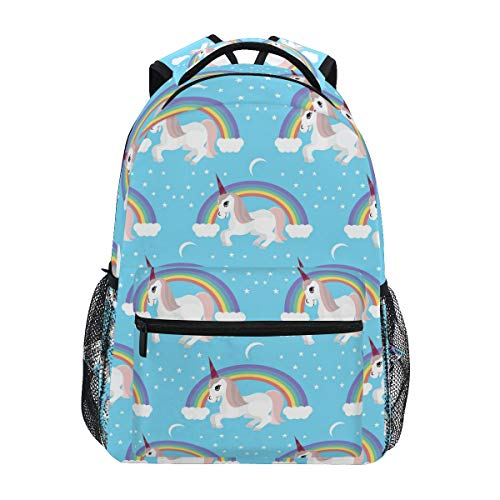 Cute Unicorn Backpack BookBag for Boys Girls Elementary School 2021805