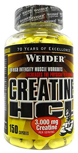 Weider Creatine HCL 150Capsulesg) by Weider