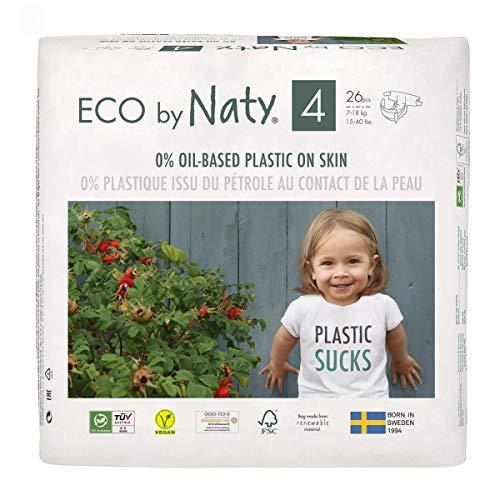 Couches écologiques par Naty, taille nouveau-né