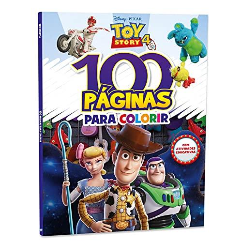 Disney 100 Paginas Para Colorir Toy Story 4