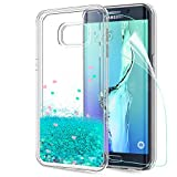 LeYi Compatible con Funda Samsung Galaxy S6 Edge Plus Silicona...