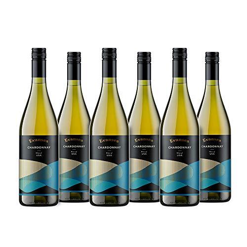 Evansea Weißwein Chardonnay, Kalifornien (6x0,75L)