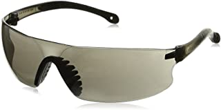 Radians RS1-20 Radians Rad-Sequel Rubber Tipped Lightweight Glasses with Smoke Lens, Standard, Smoke Colored Lens (Pack of 12)