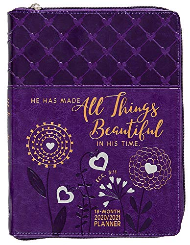 All Things Beautiful 2021 Planner: 18-Month Ziparound Planner