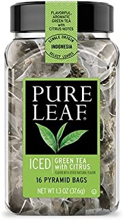 Pure Leaf Iced Green Tea with Citrus 16 Ct (Pack of 3)
