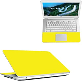 "Mightyskins Skin Compatible with Hp Chromebook 14"" (2018) - Solid Yellow 