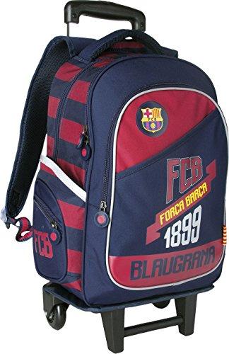 Maxi&Mini - Zaino trolley grande, motivo: FC Barcelona