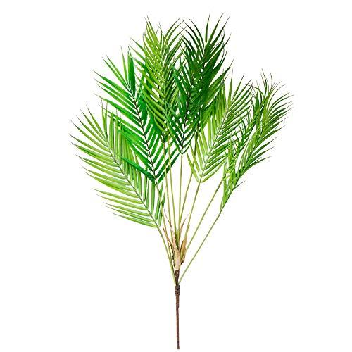 Li Hua Katzen Palm Leaf Fake Blätter Künstliche Grün Pflanzen für Büro Hotel Decor, Büro Decor Wand Decor Zimmer Home Decor und DIY, plastik, Bunch, 50-80CM