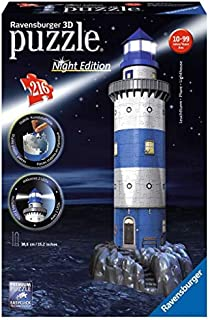 Ravensburger Lighthouse - 216 Piece 3D Jigsaw Puzzle for Kids