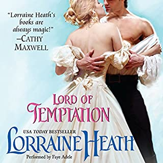 Lord of Temptation audiobook cover art