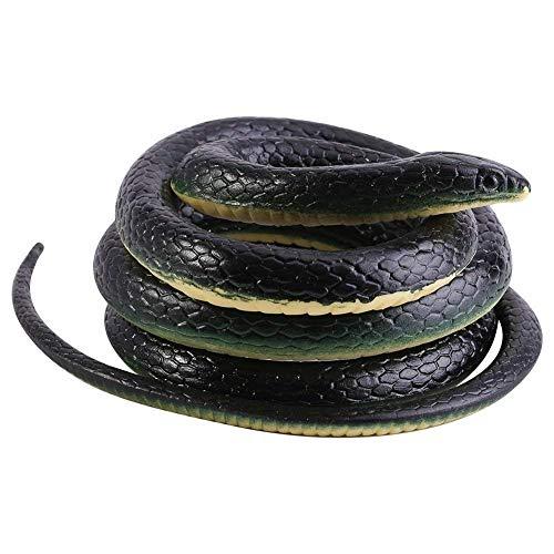 Giocattolo Serpente a Sonagli per Scherzo come Pesce d'Aprile Regalo di Halloween Decorazioni...