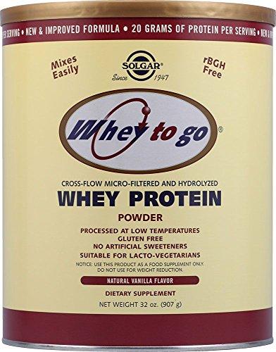 Solgar Whey To Go Protein Powder (Vanilla) (907 g) # 3668