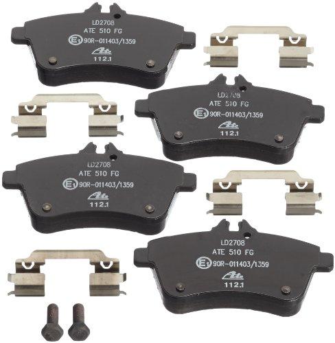 Preisvergleich Produktbild ATE 13.0470-2708.2 Bremsbelagsatz,  Scheibenbremse