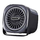 Pillows-RJF Calentador De Ventilador Portátil, Calentamiento Rápido En 3 Segundos, Regulador De Temperatura, Modos De Enfriamiento Y Calentamiento Dual