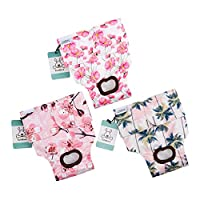 CuteBone 2 PCS Dog Diaper Female Female Washable Diapers for Dogs Durable Reusable Dog Diapers Doggie Diapers Pants D07M