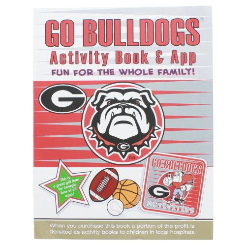 In The Sports Zone NCAA Georgia Bulldogs Kids Activity Book, One Size, Red