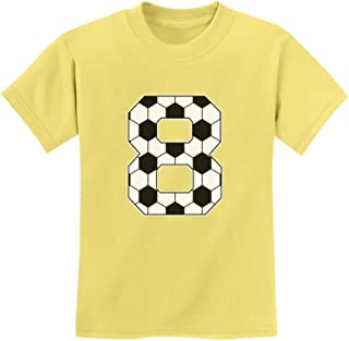 Tstars - Soccer Fan 8th Birthday Gift for 8 Year Old Youth Kids T-Shirt