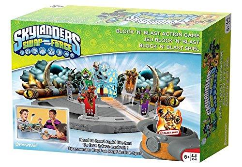 Skylanders Swap Force Block N Blast Action Game Spiel