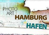 Photo-Art / Hamburg Hafen (Wandkalender 2022 DIN A2 quer): Fotokunst von Susanne Sachers (Monatskalender, 14 Seiten )