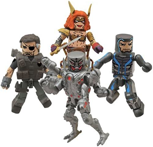 Diamond Select Toys Marvel Minimates Age of Ultron Action Figure Box Set by Diamond Select Toys (English Manual)