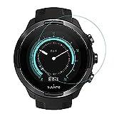 3X Protector de Pantalla para SUUNTO 9, Cristal Vidrio Templado Premium Reloj SmartWatch