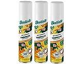 Batiste Dry Shampoo, Tropical Fragrance, 6.73 fl. oz. (Pack of 3)