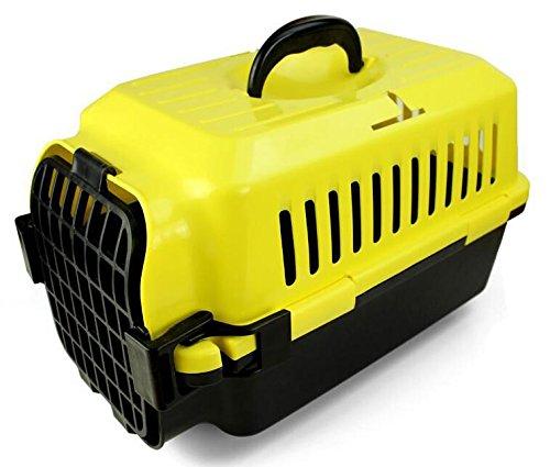 CPZLL Boîte à air livraison boîte chats et les chiens se peloter pochette avion cages cages chat camps d'animal familier , yellow