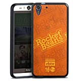 Silikon Hülle kompatibel mit HTC Desire Eye Hülle schwarz Handyhülle Rocket Beans TV YouTube Youtuber