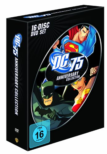 DC Universe 75th Anniversary Collection [16 DVDs]