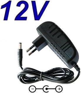 CARGADOR ESP ® Cargador Corriente 12V Reemplazo Disco Duro Woxter i-Cube 3200 Recambio Replacement
