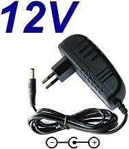 CARGADOR ESP ® Cargador Corriente 12V Reemplazo Television Televisor TV NEVIR NVR-7503-22HD-N TDT HD Recambio Replacement