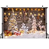 LYWYGG 7x5ft Christmas Photography Background pour Les Enfants Arrière-Plans et...