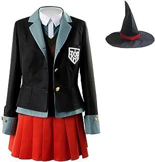 WSJDE No Game No Life Cosplay Shiro Costume Halloween Abiti da Donna Vestito Carnevale Parrucche Tuta da Marinaio Uniforme Scolastica Giapponese S Blu Navy