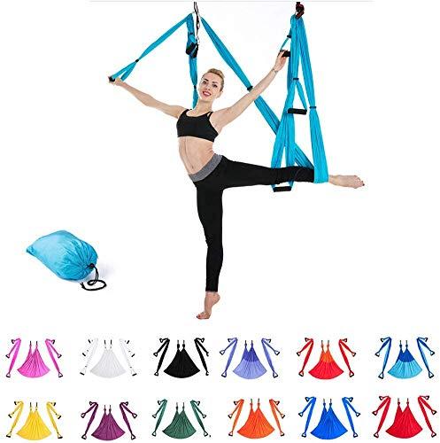 Indoor Reverse Aerial Yoga Hangmat Yoga Swing Fitness Hangmat Outdoor Parachute Doek YOGA HAMMOCK,11