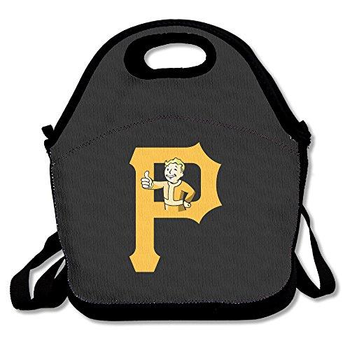 Pittsburgh Fallout Lunch Tasche Lunch-Boxen, wasserdicht Outdoor-Reise Picknick Lunch Box Tasche Tote mit Reißverschluss und verstellbarer Schulterriemen